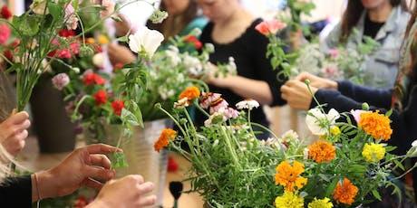 C'est moi qui l'ai fait : Atelier bouquet de fleurs bio et local billets