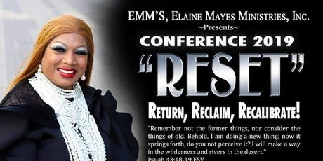 EMMS Presents RESET: Return, Reclaim, Recalibrate  tickets