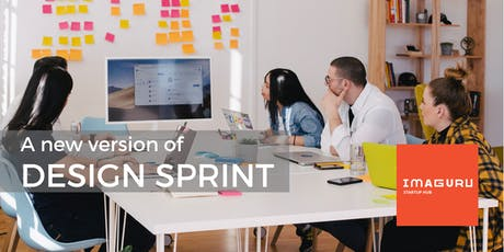 A new version of Design Sprint (In english) tickets