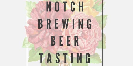 Notch Brewery Beer Tasting tickets