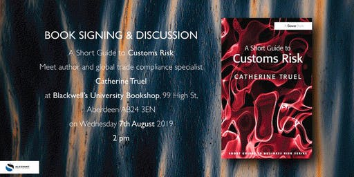 A Short Guide to Custom Risk - Talk and Book signing (Business Event)
