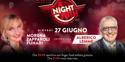 CFM / Aperitif Offerto con Special Guest - A Night With