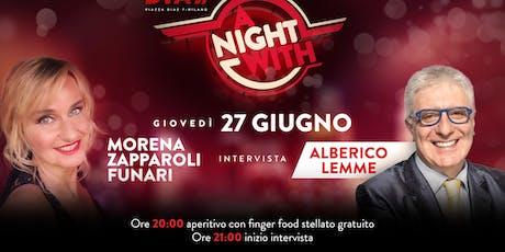 CFM / Aperitif Offerto con Special Guest - A Night With biglietti