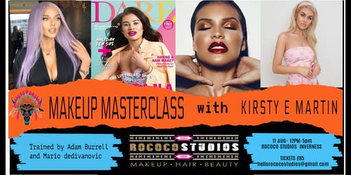 Makeup Masterclass with Kirsty E Martin