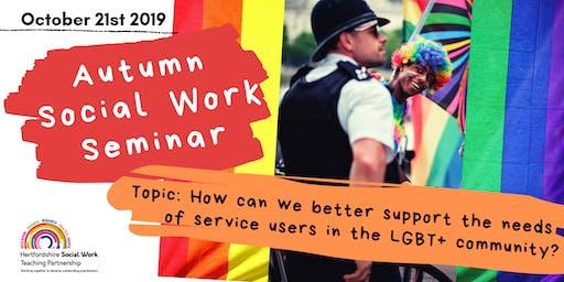 Autumn Social Work Seminar