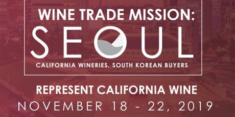 Wine Trade Mission: Seoul tickets