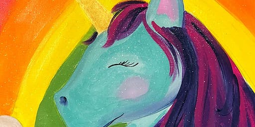 Mommy & Me Paint Class - Rainbows & Unicorns