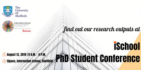 iSchool PhD Student Conference 2019 tickets
