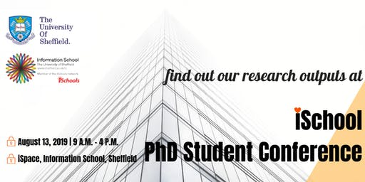 iSchool PhD Student Conference 2019