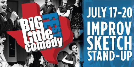 The Big-Little Comedy Fest - Full Festival Pass! (Improv/Standup/Comedy)