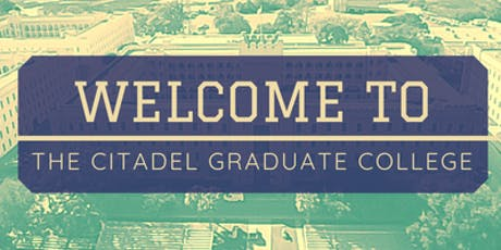 The Citadel Graduate College: New Student Orientation tickets