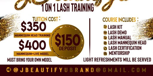 1on1 Lash Training Course