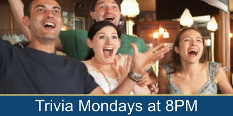 Bar Trivia Night with Joe Trivia on Mondays 8pm! tickets