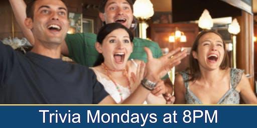 Bar Trivia Night with Joe Trivia on Mondays 8pm!