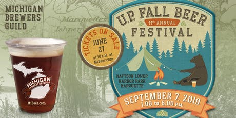 Michigan Brewers Guild 11th Annual U.P. Fall Beer Festival tickets