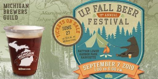 Michigan Brewers Guild 11th Annual U.P. Fall Beer Festival