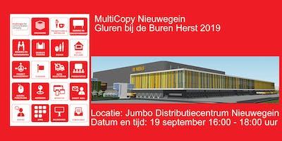 """Multicopy \""""Gluren bij de Buren\"""" Herfst 2019"""
