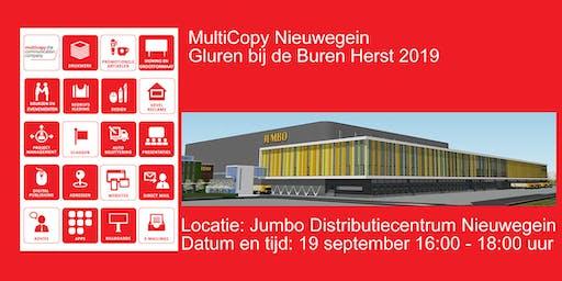 """Multicopy """"Gluren bij de Buren"""" Herfst 2019"""