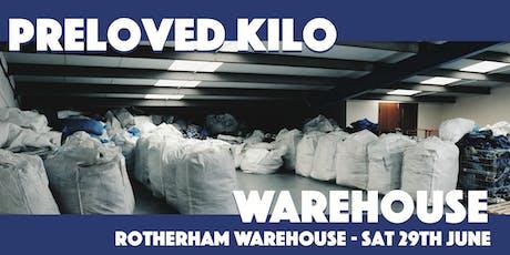 Rotherham Warehouse Preloved Vintage Kilo tickets