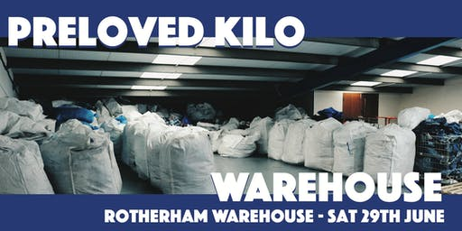 Rotherham Warehouse Preloved Vintage Kilo