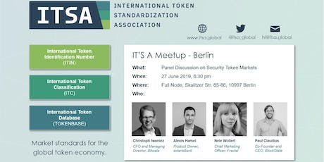 IT'S A Meetup - Security Token Panel Discussion Tickets