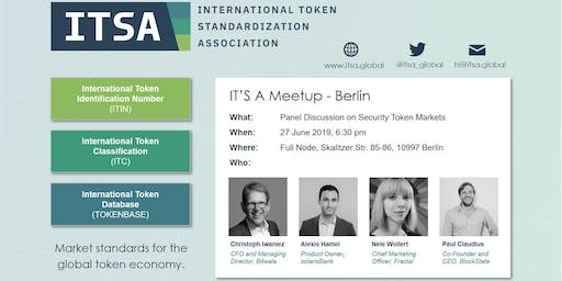 IT'S A Meetup - Security Token Panel Discussion