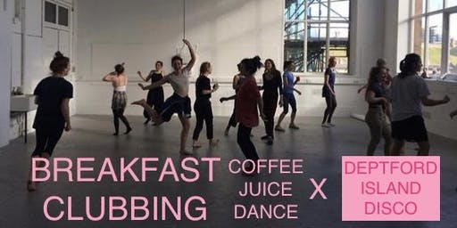 Breakfast Clubbing x Deptford Island Disco