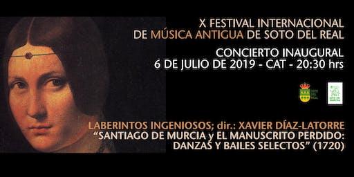X FESTIVAL INTERNACIONAL DE MÚSICA ANTIGUA - LABERINTOS INGENIOSOS