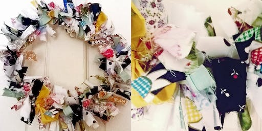 Vintage Style Fabric Wreath Workshop (for children)