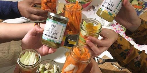 C'est moi qui l'ai fait : Atelier Pickles-maison avec Les 3 Chouettes