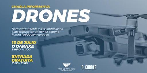 Charla Informativa | Drones Lugo