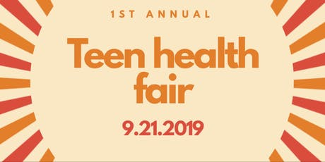 1st Annual Teen Health Fair  tickets