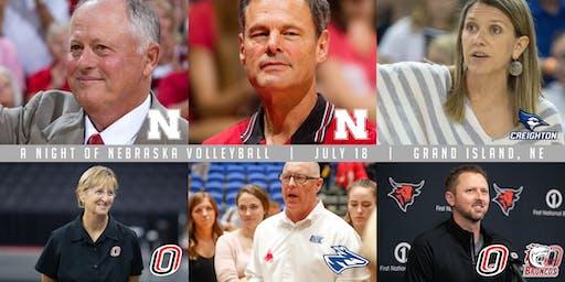 A Night of Nebraska Volleyball