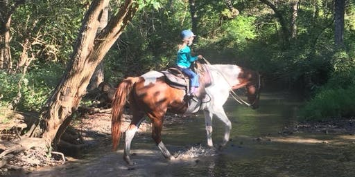 Mother and Daughter Sleepover with Horseback Riding- July 27-28, 2019