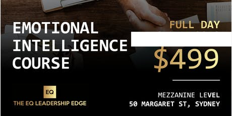 Emotional Intelligence Course for Leaders - Full-Day Training  tickets