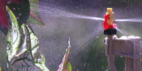 Foundations of Irrigation Florida Master Gardener Course tickets