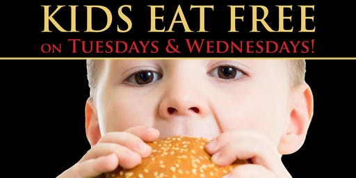 Kids Eat Free on Tuesdays & Wednesdays at Franklin's!