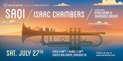 Ecstatic Dance Presents: SaQi / Isaac Chambers / Ryan Herr & Shaman's Dream