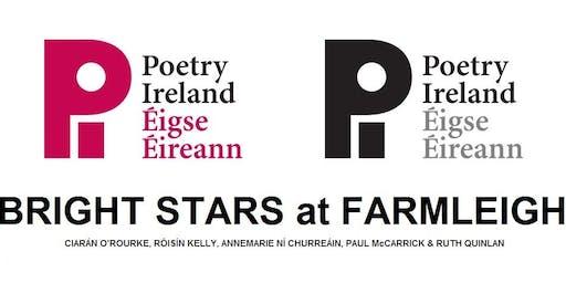 POETRY IRELAND presents BRIGHT STARS