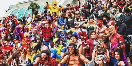 Cosplay Halloween Rave