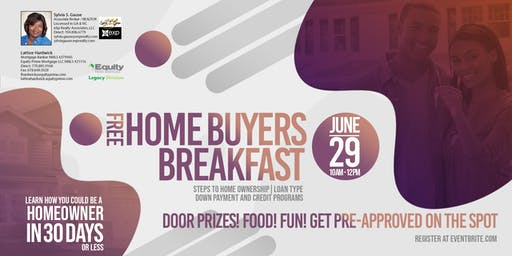 Free Home Buyers Breakfast