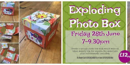 Exploding Photo Box Workshop