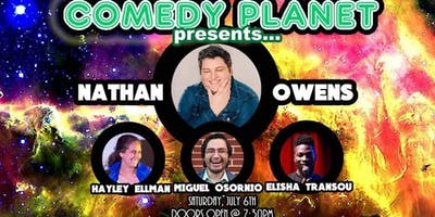 Comedy Planet: Nathan Owens