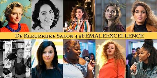 De Kleurrijke Salon #4 - #FemaleExcellence - UITVERKOCHT