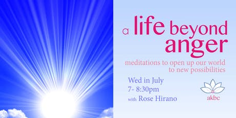 A Life Beyond Anger: Meditation Classes tickets