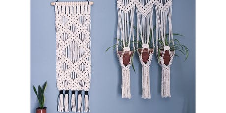 Macrame Wall Hanging Workshop: London tickets