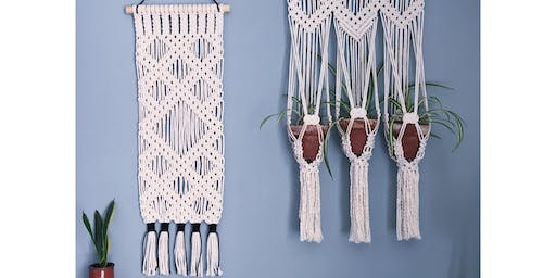 Macrame Wall Hanging Workshop: London