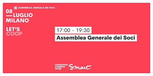 Assemblea generale dei soci / Let's coop Smart