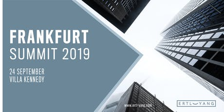 Frankfurt Summit 2019 tickets