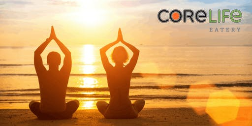 FREE Yoga at CoreLife Eatery